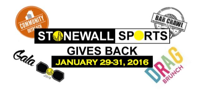 Stonewall Sports Gives Back