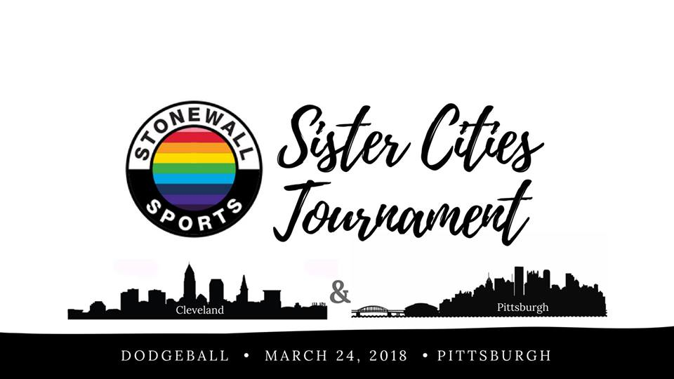 Sister-Cities Tournament - CLE & PITT - Dodgeball