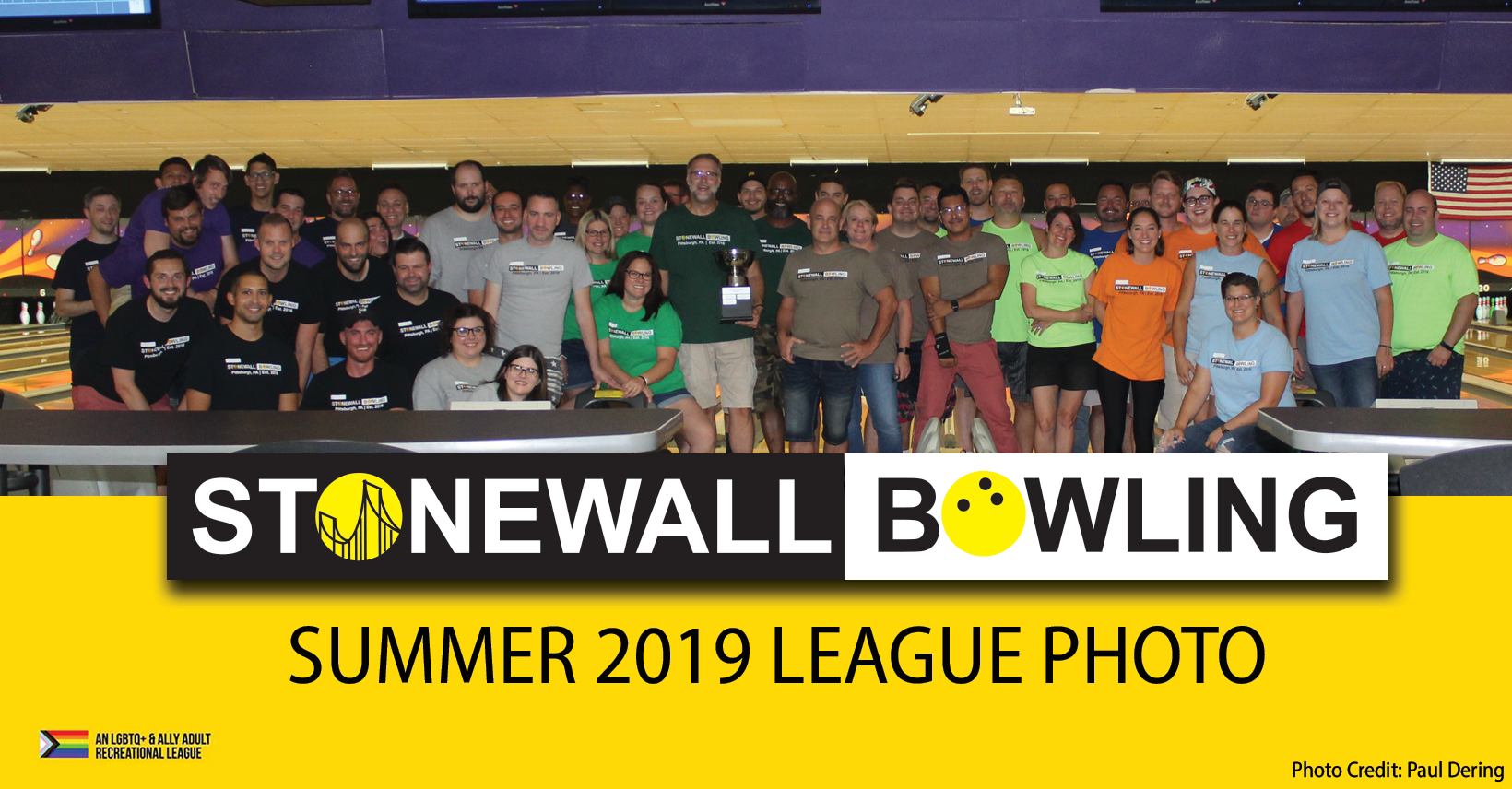 Stonewall Bowling League Photo Summer 2019